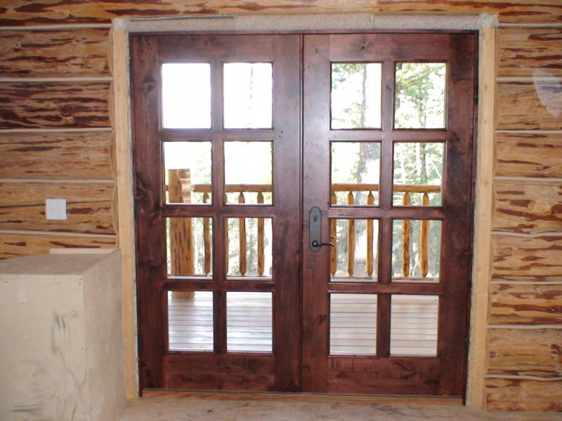Interior exterior solid wood doors in washington for Solid french doors exterior
