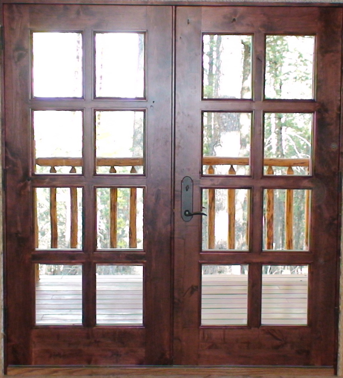 Interior exterior solid wood doors in washington for Interior exterior doors
